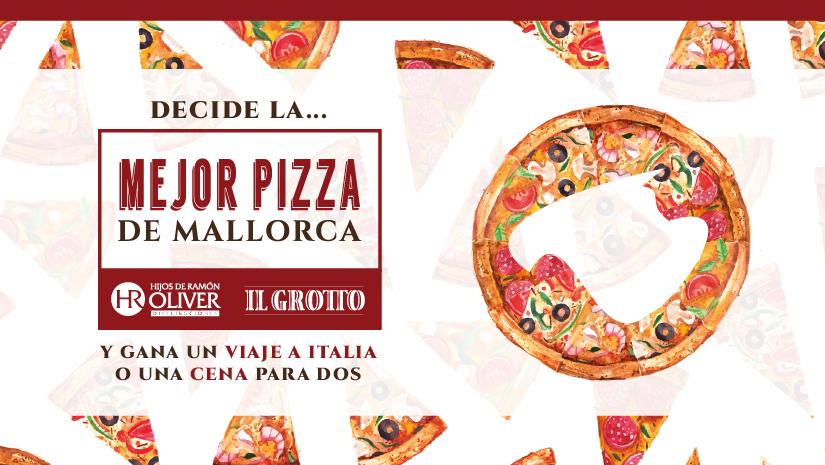 Estamos buscando el restaurante que se llevará el título de Mejor Pizza de Mallorca