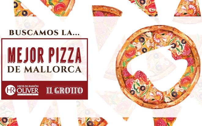 """Ya se conoce el nombre de las 10 pizzas finalistas al título de """"Mejor Pizza de Mallorca"""""""