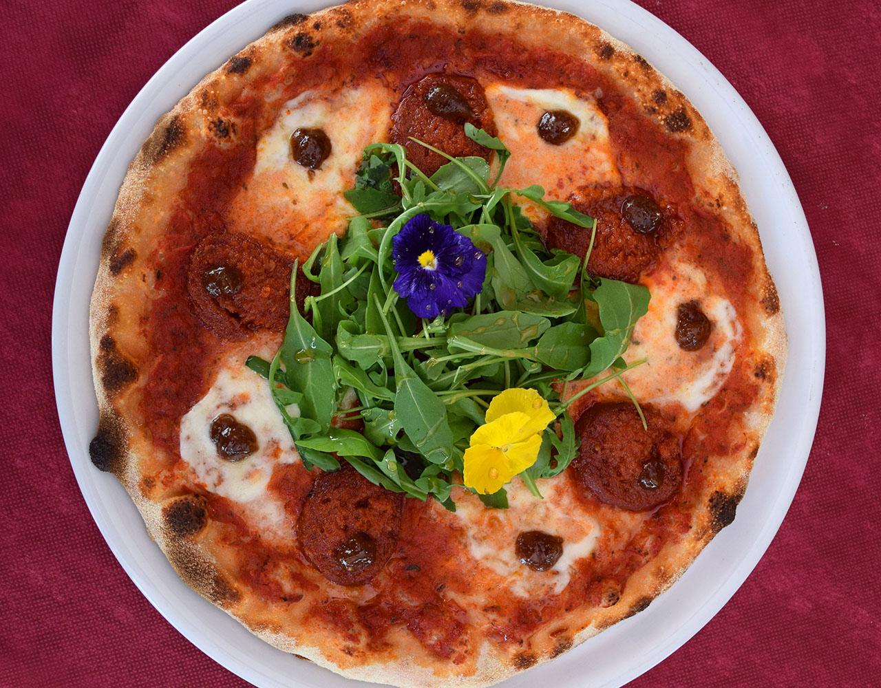 Pizza ganadora concurso Mejor Pizza de Mallorca